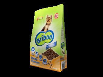 alimento bribon pequeno pequena raça porte delicioso melhor cão cães