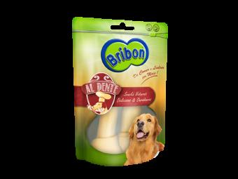 snack cão couro osso