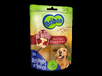 snack cão rolinhos de porco natural